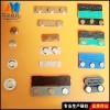 磁性徽章 不锈钢标牌磁铁 塑料标牌磁扣
